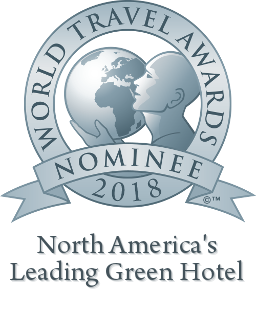 North Americas leading green hotel
